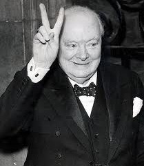 CHURCHILL INTO THE STORM