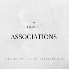 GUIDE TO LAW OF ASSOCIATIONS (INGOs)